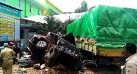 Kecelakaan Beruntun Truk-Mobil-Motor di Bumiayu, 4 Orang Tewas
