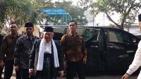Ma'ruf Amin Sebut Ulama Lebih Suka Istilah Silaturahmi daripada Kampanye