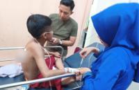 Berawal Diajak Ngobrol, Bocah SD Ditikam OTK Sepulang Sekolah