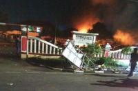 5 Fakta Pembakaran Mapolsek Ciracas, Suasananya Sempat Mencekam