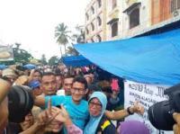 Tepis  Sandiwarauno, BPN: Emang Prabowo-Sandi Pemain Sinetron?