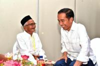 Saat Nyak Sandang Kembali Bertemu Presiden Jokowi di Aceh
