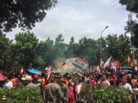 Seribu Satpol PP Amankan Acara Persija Juara di Balai Kota