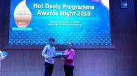 4 Industri Pariwisata Raih Penghargaan Hot Deals Awards Night 2018