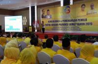 Golkar Jambi Galang Konsolidasi demi Menangkan Jokowi-Ma'ruf di Pilpres 2019
