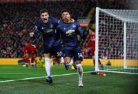 Mourinho Bela Pemain Man United meski Dikalahkan Liverpool 1-3