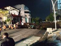 Jalan Gubeng Ambles, Pemkot Surabaya Akan Cek Izin Pengerjaan Proyek RS Siloam