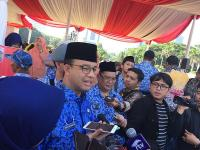Dituding Kampanyekan Prabowo-Sandiaga, Anies: Enggak Ada Tanggapan