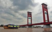 Jembatan Ampera Ditutup saat Malam Tahun Baru 2019