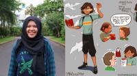 Remaja Makassar Menang Lomba Komik Dunia dengan Superhero