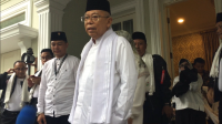 Jelang Debat Pilpres, Perasaan Ma'ruf Amin Campur Aduk