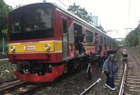 Perjalanan KRL Tanah Abang-Pondok Ranji Kembali Normal