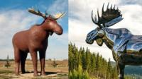 "Kanada dan Norwegia Terlibat ""Sengketa"" Gara-Gara Patung Rusa Raksasa"