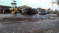 Hujan Deras, BPBD DKI Waspadai Ketinggian Air di Pasar Ikan
