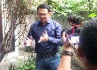 Pasca-Bebas, Ahok Terlihat Bugar dan Langsung Nge-Vlog