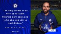Menanti Kolaborasi Higuain-Sarri Bersama Chelsea