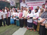 Bazar Beras Murah Kartini Perindo Disambut Antusias Warga Mampang Prapatan