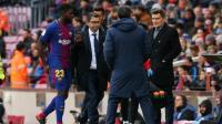 Jelang Hadapi Lyon di Liga Champions, Valverde Masih Ragu Mainkan Umtiti