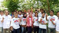 Giat Mancing Bersama Caleg Perindo di Bekasi Disambut Antusias Warga
