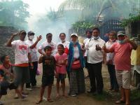 Marak Kasus DBD, Caleg Perindo Gencar Lakukan Fogging di Bali