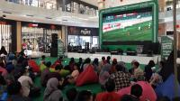 Nobar Timnas Indonesia Garapan Grab Berlangsung Semarak di Yogyakarta