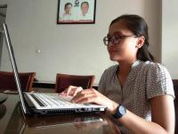 Si Cantik Fafa, Mahasiswi Undip Angkat Sosok Hary Tanoe untuk Materi Skripsi