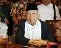 Ma'ruf Amin Siap Hadapi Sandiaga di Debat Ketiga Pilpres