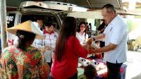 500 Paket Beras Murah Perindo Ludes Diserbu Warga Semarang