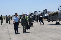 4 Pesawat Tempur TNI AU Latihan di Langit Kepri