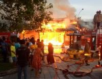Kelenteng Tertua di Semarang Tay Kak Sie Ludes Terbakar