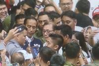 Kedatangan Jokowi di Istora Senayan Disambut Riuh Pengusaha KerJo