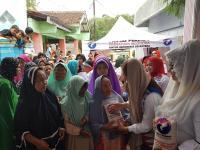 Caleg Perindo Gelar Bazar Murah di Bogor Bantu Masyarakat