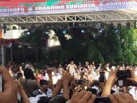 Prabowo: Kemenangan Sudah di Tangan Kita!