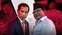 Real Count KPU 4%: Jokowi-Ma'ruf 54,75%, Prabowo-Sandi 45,25%