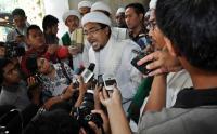 Habib Rizieq Minta Prabowo-Sandi Jangan Bertemu Pihak Koalisi Jokowi, Kecuali...