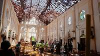 Rangkaian Bom Sri Lanka: Pria Itu Sangat Tenang saat Masuk Gereja Lalu Bom Meledak