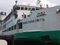 2 Kapal Bertabrakan di Pelabuhan Merak, 1 ABK Hilang