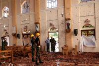 Korban Tewas Rangkaian Bom Sri Lanka Menjadi 310 Orang, 40 Terduga Pelaku Telah Ditangkap