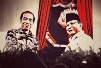 <i>Real Count</i> KPU 18,7%: Jokowi-Ma'ruf 54,85% dan Prabowo-Sandi 45,15%