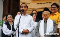 Jokowi-Ma'ruf Menang Versi Quick Count, Relawan Gelar Syukuran