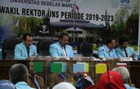 UNS Tetapkan 4 Wakil Rektor Terpilih