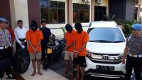 3 Pelaku Pencurian Rp505 Juta dengan Modus Kempis Ban Ditangkap di Kulonprogo
