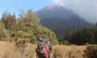Sempat Mengeluh Sakit Perut, Pendaki Asal AS Meninggal di Gunung Semeru