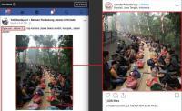 Beredar Foto Syukuran Jokowi 2 Periode, Berikut Fakta Sebenarnya