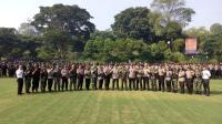 Hasil Pemilu 2019 Rampung, 1.238 Personel Gabungan Jaga Kota Bogor