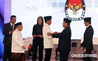 Final Rekapitulasi KPU: Jokowi-Ma'ruf Amin 55,41% dan Prabowo-Sandi 44,59%