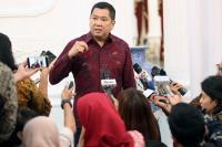 Hary Tanoesoedibjo & Jokowi Bicarakan Pembangunan Ekonomi dengan Pertumbuhan 7%-8%