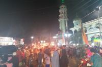 Ribuan Obor & Gordang Sambilan Meriahkan Takbiran di Madina