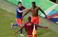 Kegembiraan Kolombia Bungkam Argentina 2-0 di Copa America 2019