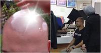 Kepalanya Terlalu Silau, Pria di Malaysia Kesulitan Ambil Foto untuk Paspor